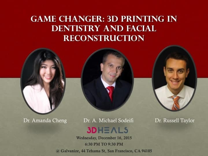 Game Changer : 3D Printing in Dentistry and Facial Reconstruction