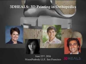 3D Printing in Orthopedics