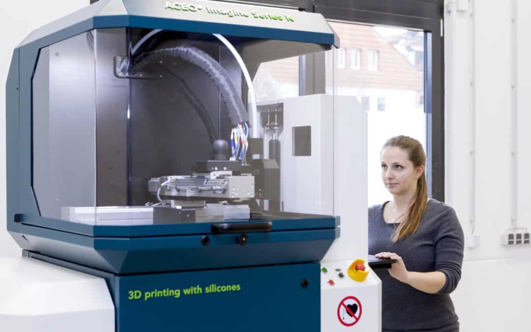 How 3D Printing with Silicones Might Change Medical Science